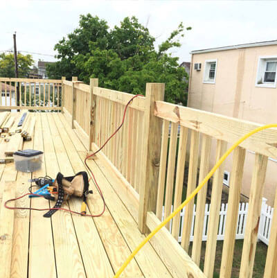 Deck Replacement Long Island