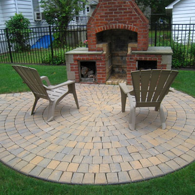 Stone Patio Installation Long Island