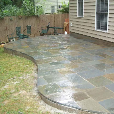 Paving Stone Patio Long Island